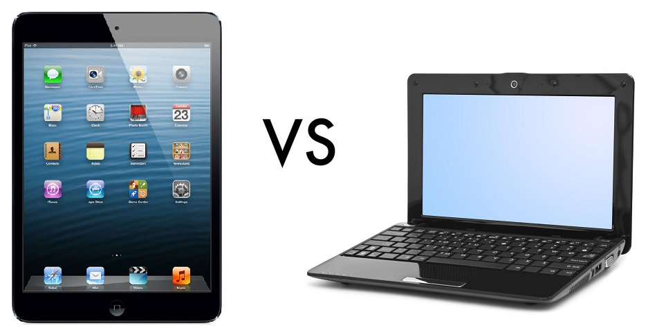 tablet vs laptop